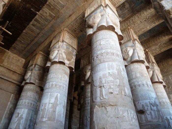 Колонны храма Хатшепсут | Фото: maxpark.com