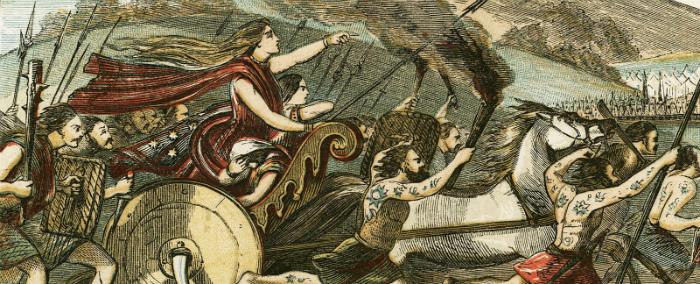 Ради мести за поруганных женщин объединились несколько племён.