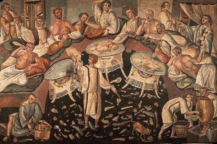 Cкатерть, как и салфетка, имеет древнюю историю.